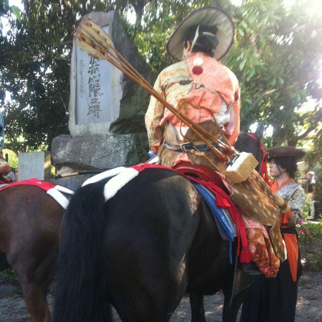 Yabusame (horseback archery) ceremony 2