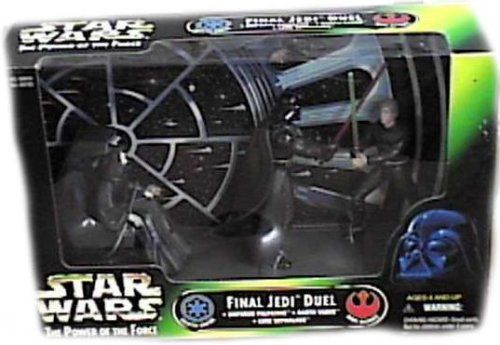 Star Wars Power of the Force Cinema Scenes  Final Jedi Duel Hasbro