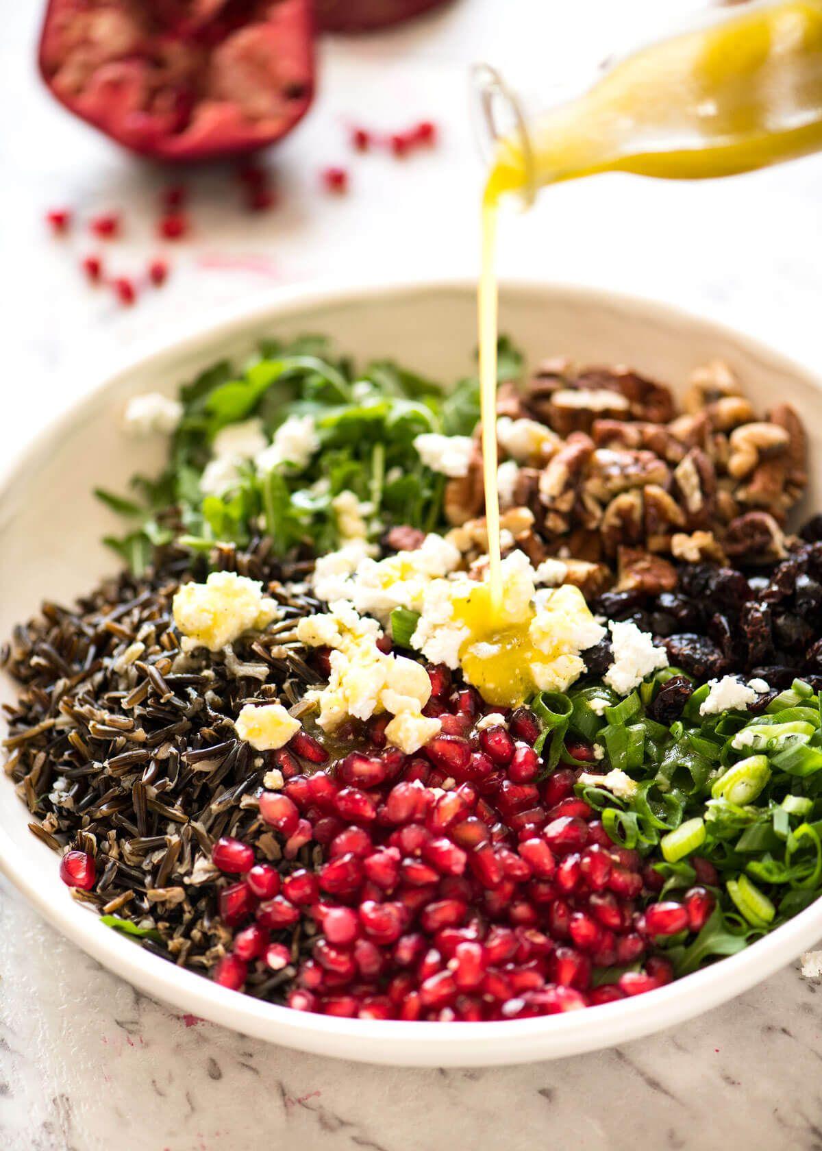 Wild Rice Salad Recipe Wild Rice Salad Wild Rice Salad Recipe Wild Rice Recipes [ 1680 x 1200 Pixel ]