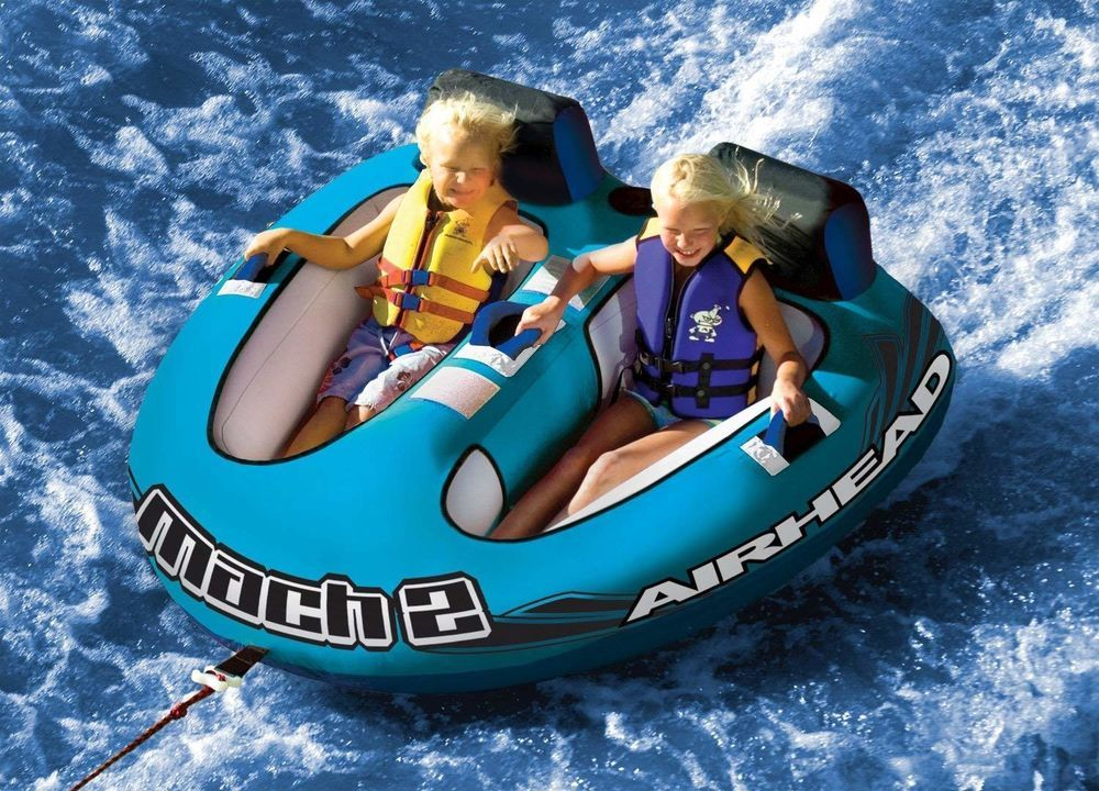 Inflatable Towable Float Water Sport Ski Tube Airhead 2
