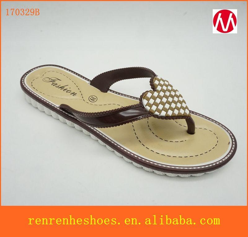 c48d6281a6350 2017 cheap wholesale Plastic PVC PCU EVA women shoes flip flops ...