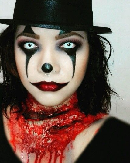 Pin de Annabelle Defoirdt en Maquillage halloween Pinterest