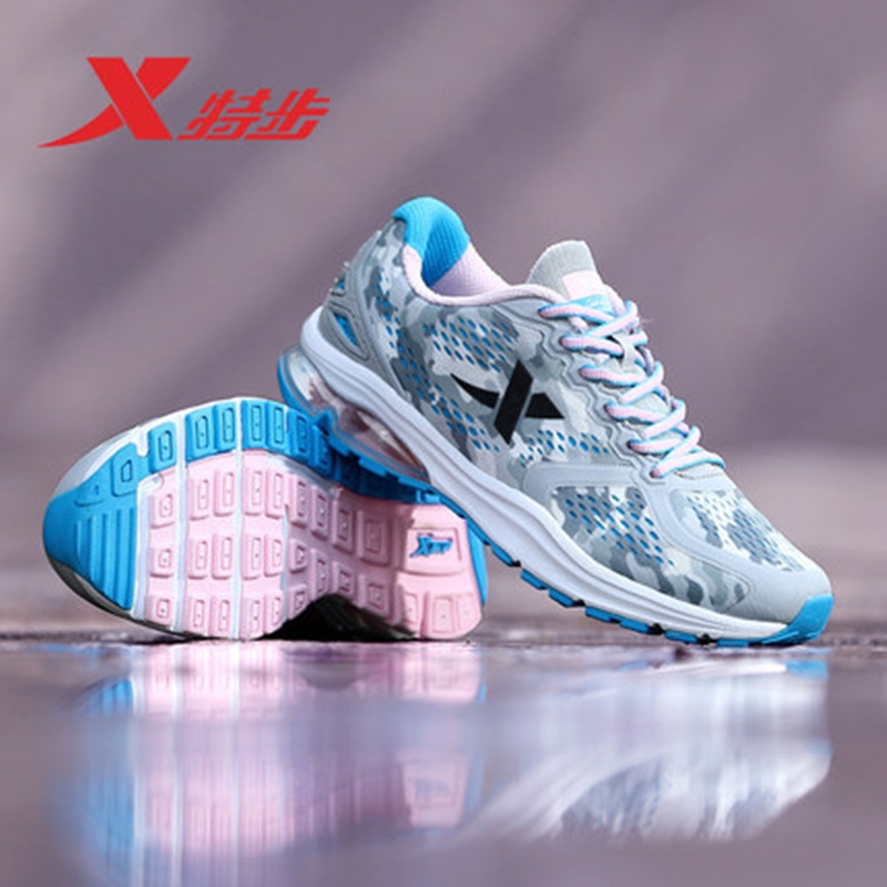 41.26$  Watch now - http://alizvs.shopchina.info/go.php?t=32807907884 - XTEP Brand air max Breathable krossovky women Running Sports Shoes Ladies Damping Athletic Sneakers free shipping 983218119173 41.26$ #magazineonlinewebsite