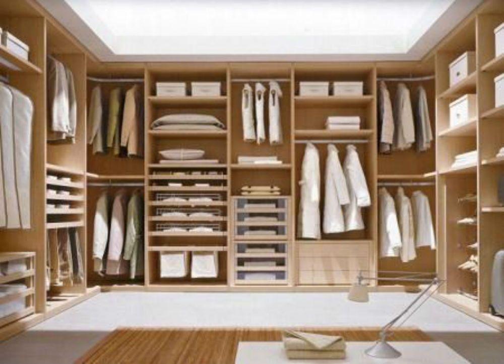 armario vestidor madera 1jpg (1000×722) Closetu0027s de Otras Casas
