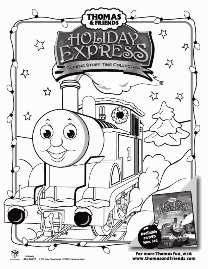 Thomas Coloring Sheet Coloring Sheets Train Coloring Pages