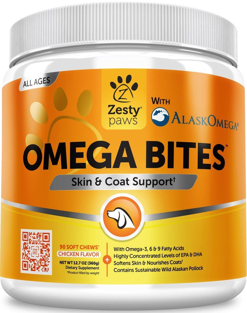 Omega Bites™ Liquid fish oil, Fish oil, Oils for dogs