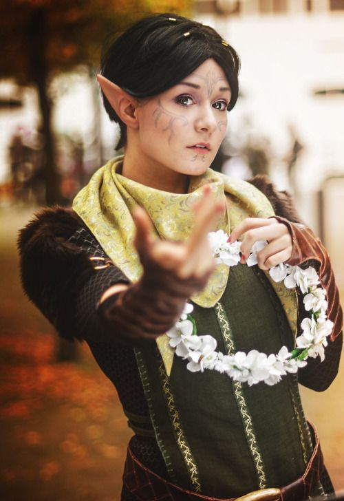 Another shot of my Merrill costume from MCM Expo past weekend!! <3photo + edit by Starbitcosplay by Aigue-Marine