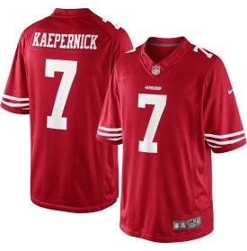 sports shoes 50783 37772 Nike Men's Home Game Jersey San Francisco 49ers Colin ...