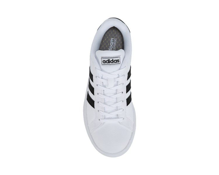 wholesale dealer 5551e c05c3 adidas Grand Court Sneaker White Black
