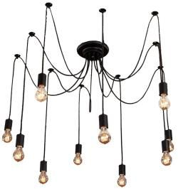 Shop for 10 light artistic modern flush mount pendant lamp light chandelier. Get free shipping at Overstock.com - Your Online Home Decor…