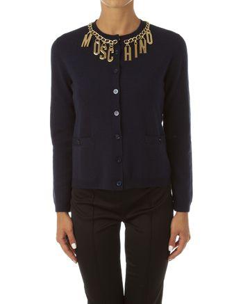MOSCHINO new arrivals Knitwear Blu/oro | Gasmy.it