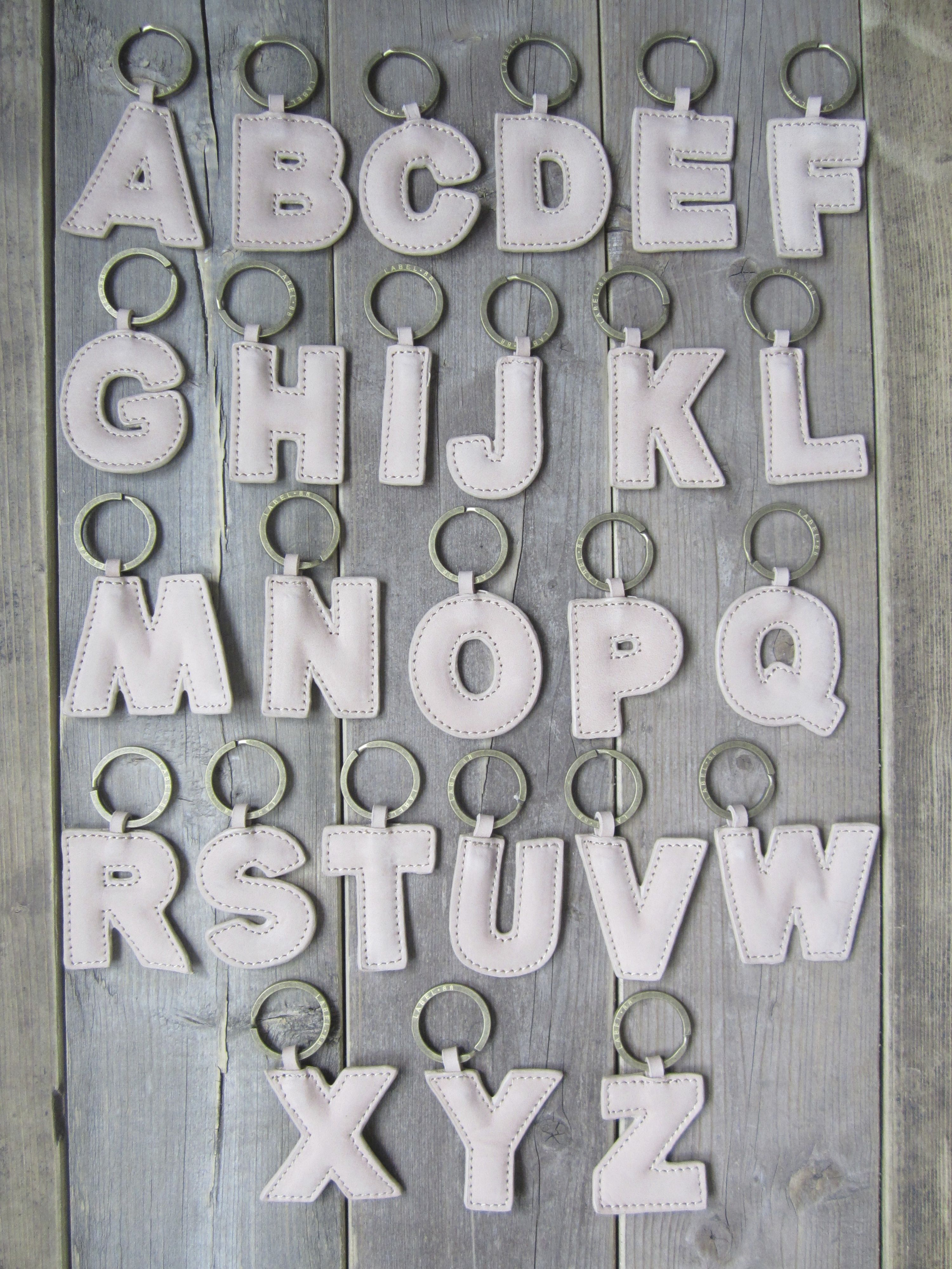 Label 88; A, B, C, Keyring