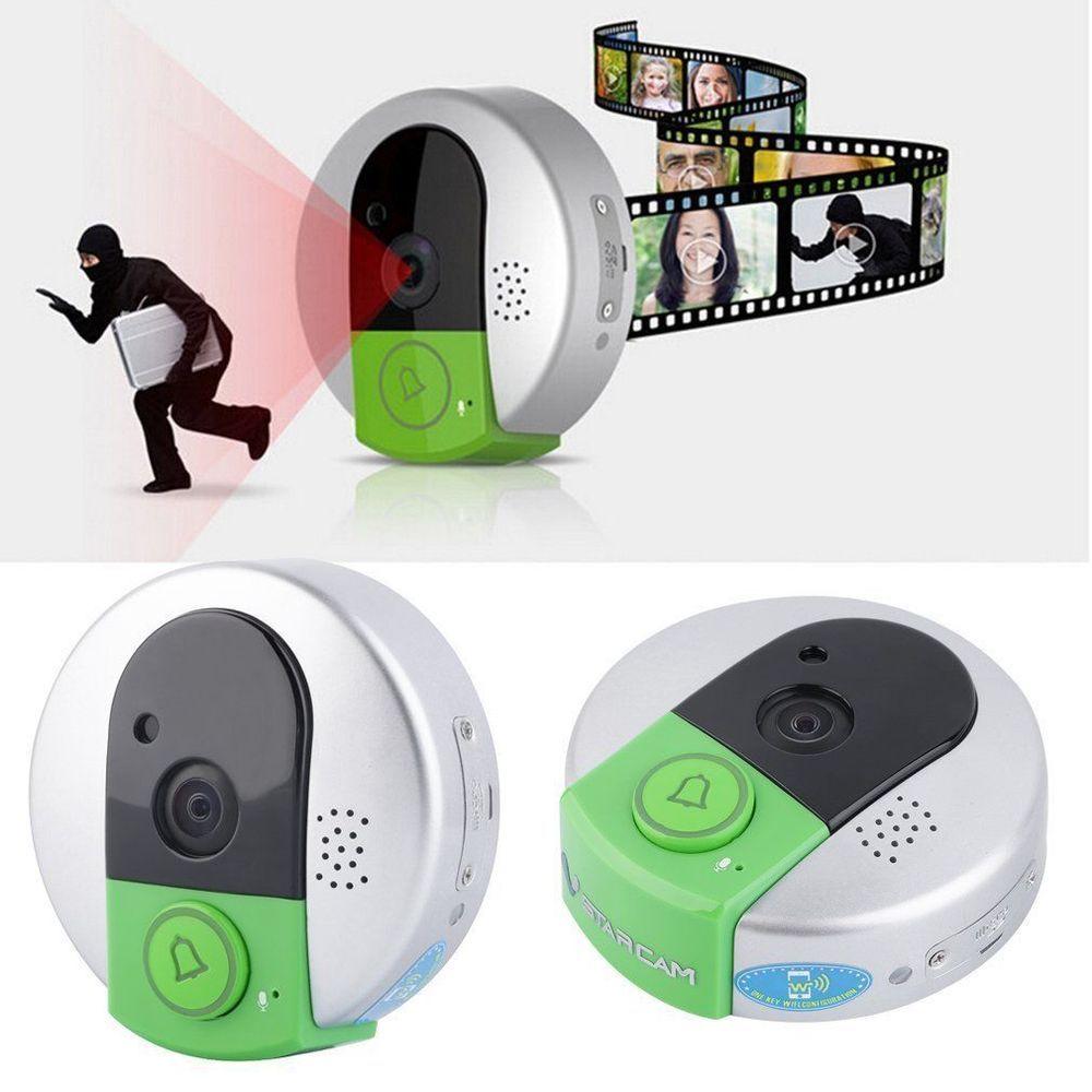 VSTARCAM Wireless WiFi Remote Video Camera Door Phone Doorbell Home ...