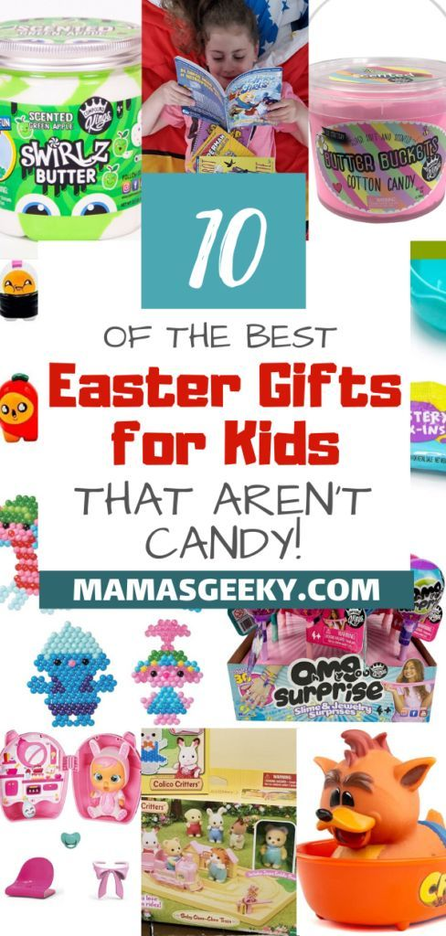 10 Of The Best Kids Gifts For Easter (That Aren't Candy!) #Easter #EasterGifts #GiftsForKids #KidsGifts #GiftIdeas