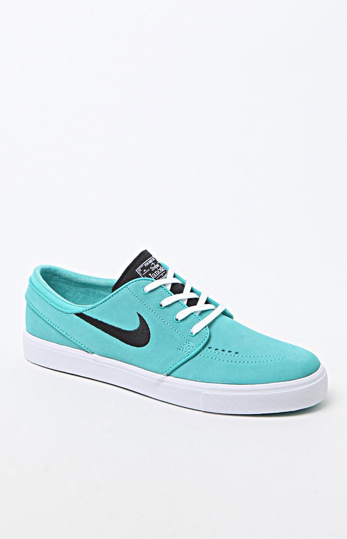 183cde5f93 Nike SB Zoom Stefan Janoski Mint Green Shoes – Mens Shoes – Teal/Black