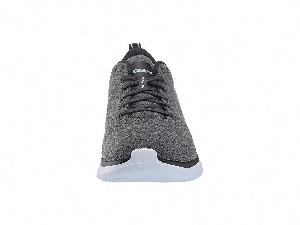 Hoka One One Hupana Wool Men s Running Shoes Neutral Gray White   runningshoes 499139e7765
