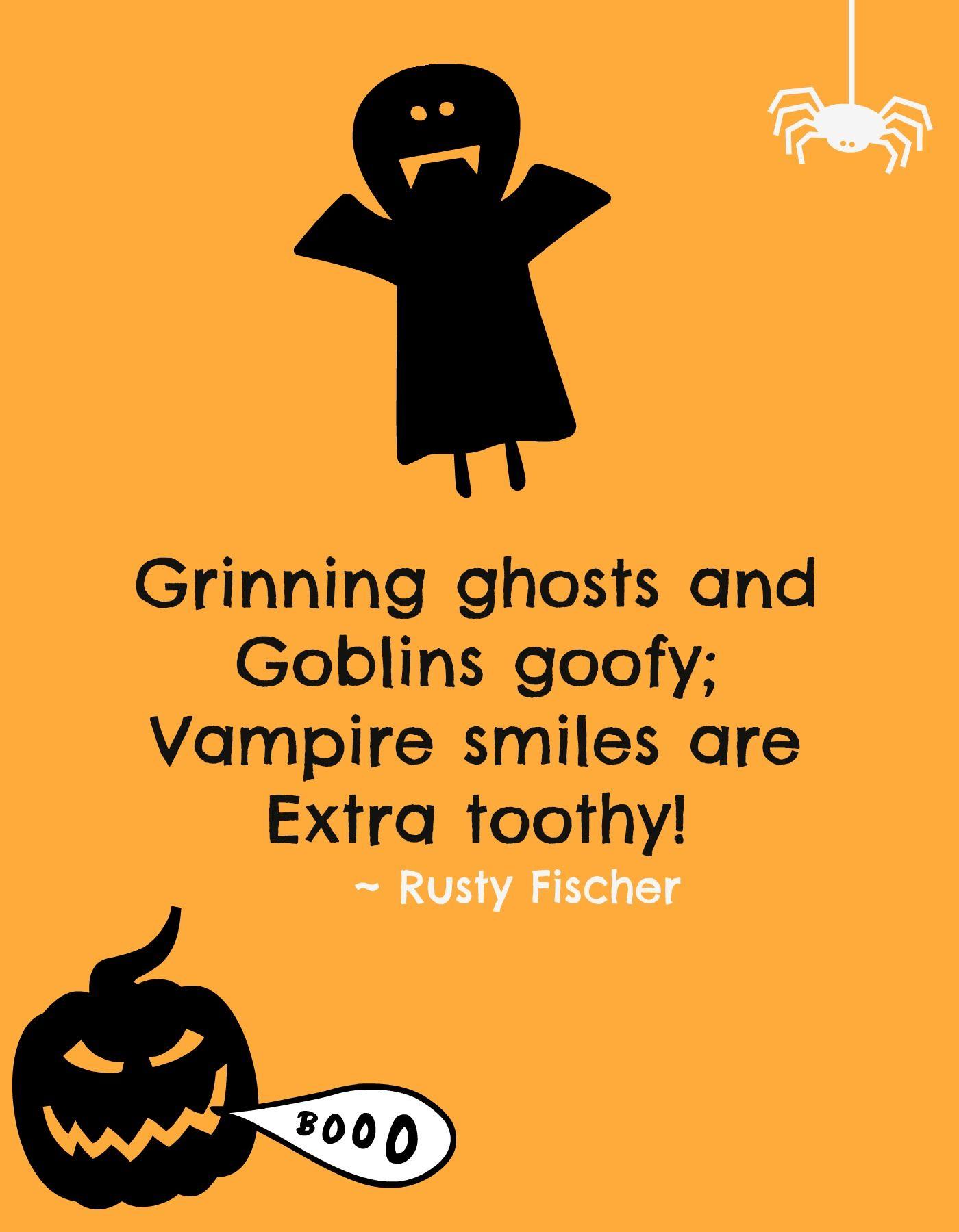 On Halloween... A Halloween Poem Halloween rhymes