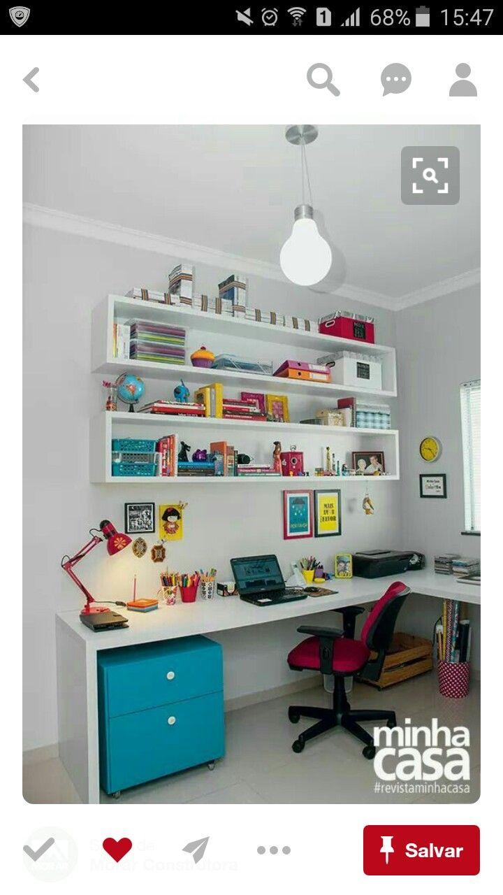 Pin Do A Mg A M Q Em Room Ideas Pinterest Decora O ~ Ideias De Prateleiras Para Quarto