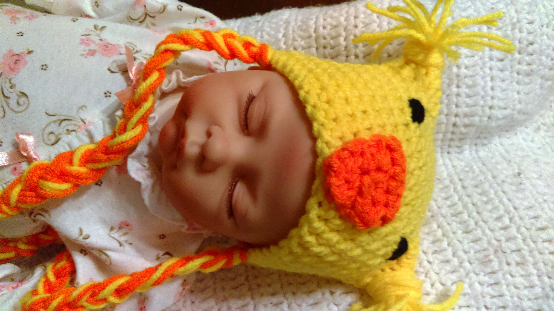 c8b21bcb2ab FREE US SHIPPING Newborn Chicken Hat