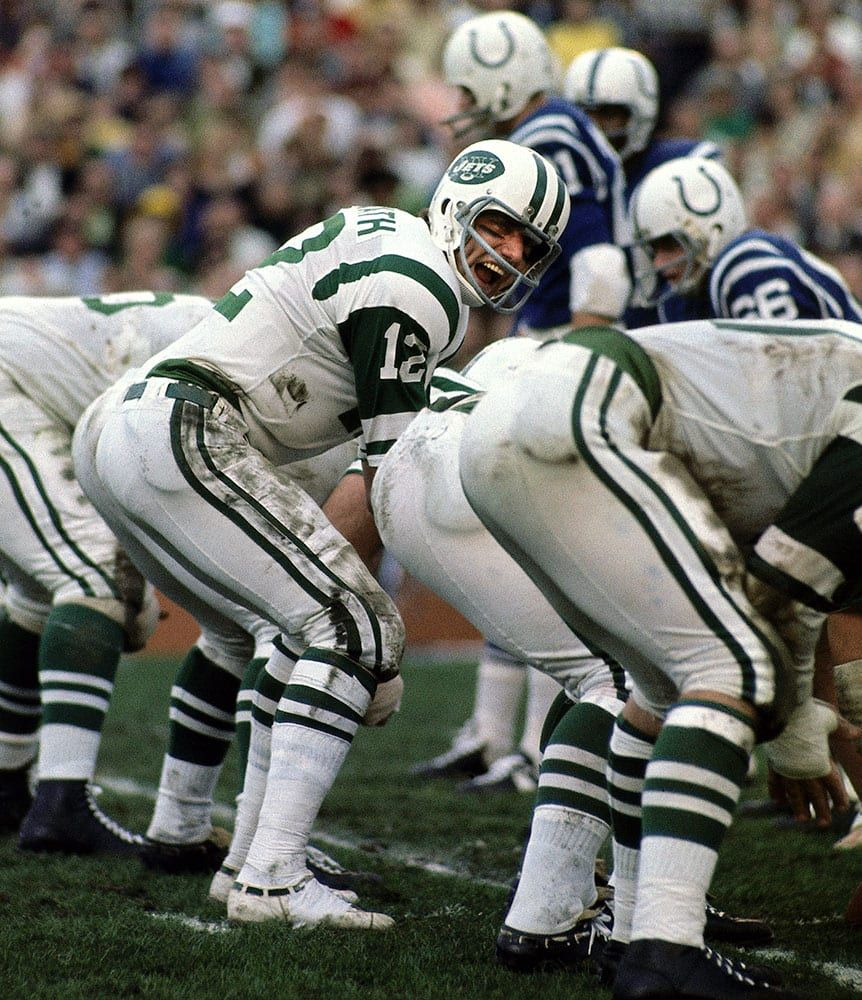 The 10 Best Super Bowls Of All Time In 2020 Joe Namath Nfl Football Players American Football League