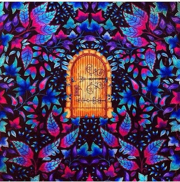 Диана Бэсфорд, антистресс раскраска | Раскраски, Рисунки ...