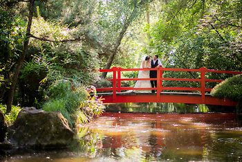 Wedding Photography Of This Bride And Groom At The Anese Gardens In Micke Grove Lodi