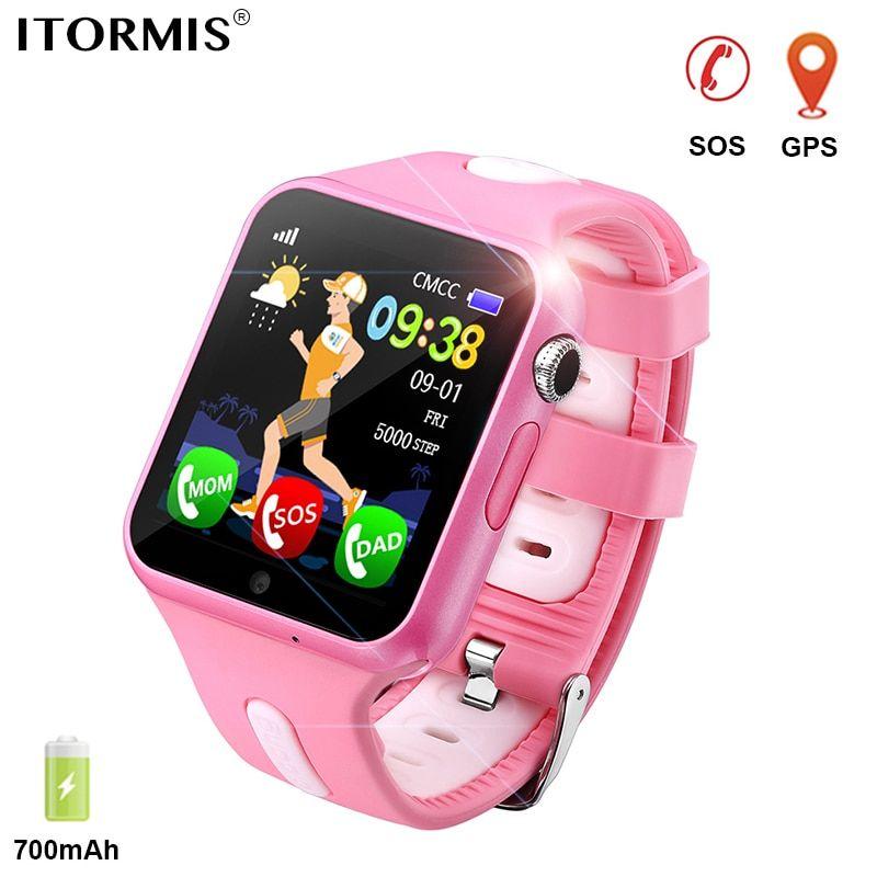ITORMIS Kids GPS Tracking Smart Watch Smart Baby Watch