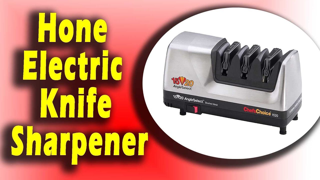 Chef Schoice Hone Electric Knife Sharpener In 2020 Knife Sharpening Electric Knife Electric Knife Sharpener
