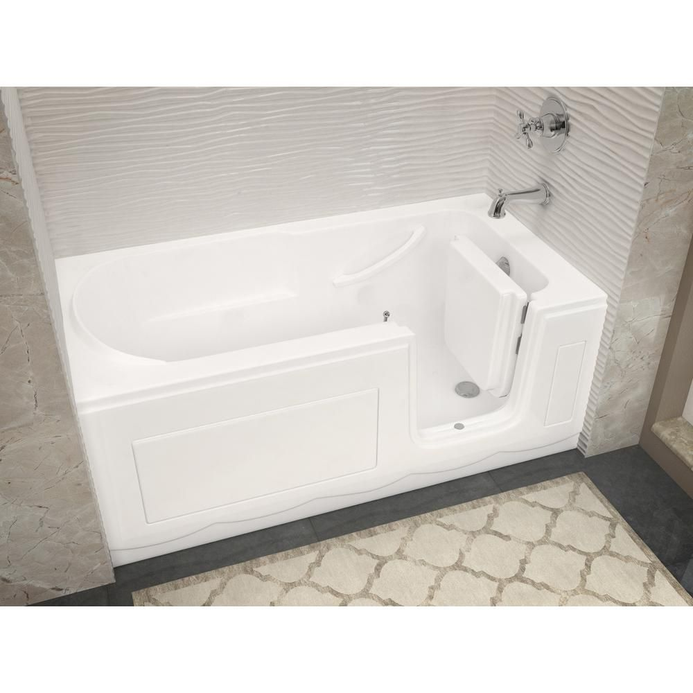 Universal Tubs Hd Series 60 In Right Drain Step In Walk In