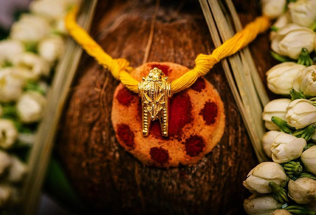 Most Important Detail At An Indian Wedding Weddingphotographer Indianwedding Tamil Indian Wedding Jewelry South Indian Mangalsutra Bridal Jewelry Collection