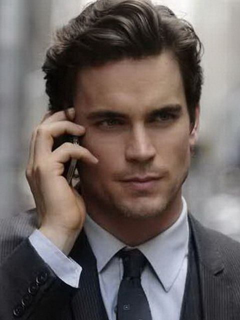 Short Haircuts For Men With Oval Faces Matt Bomer Classic Mens