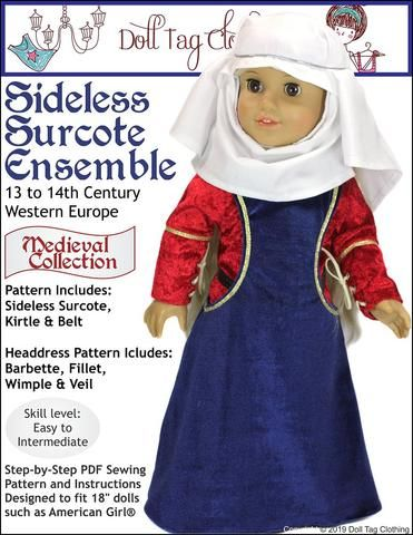 Sideless Surcote Medieval