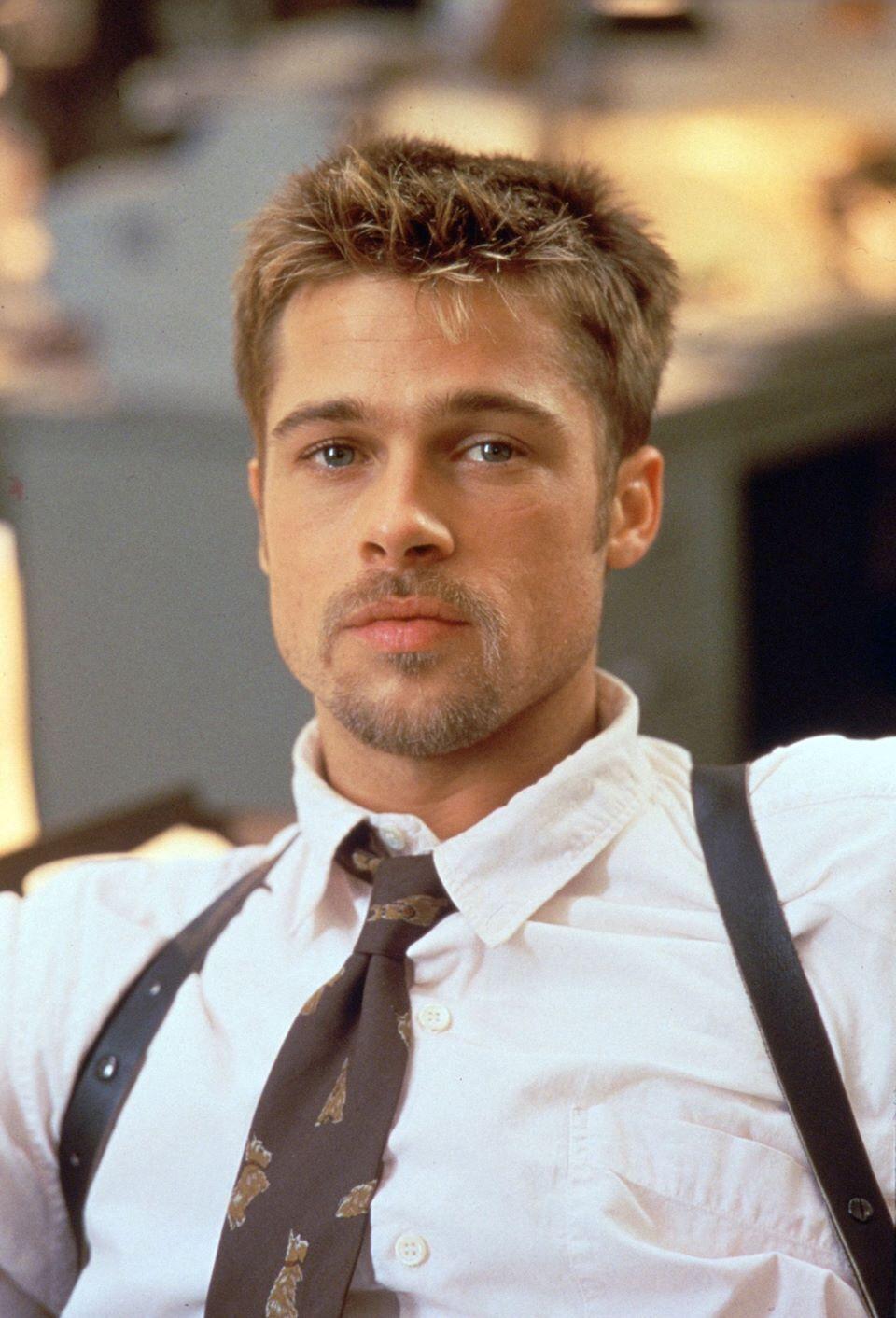 Se7en Brad Pitt Brad Pitt Haircut Brad Pitt Young