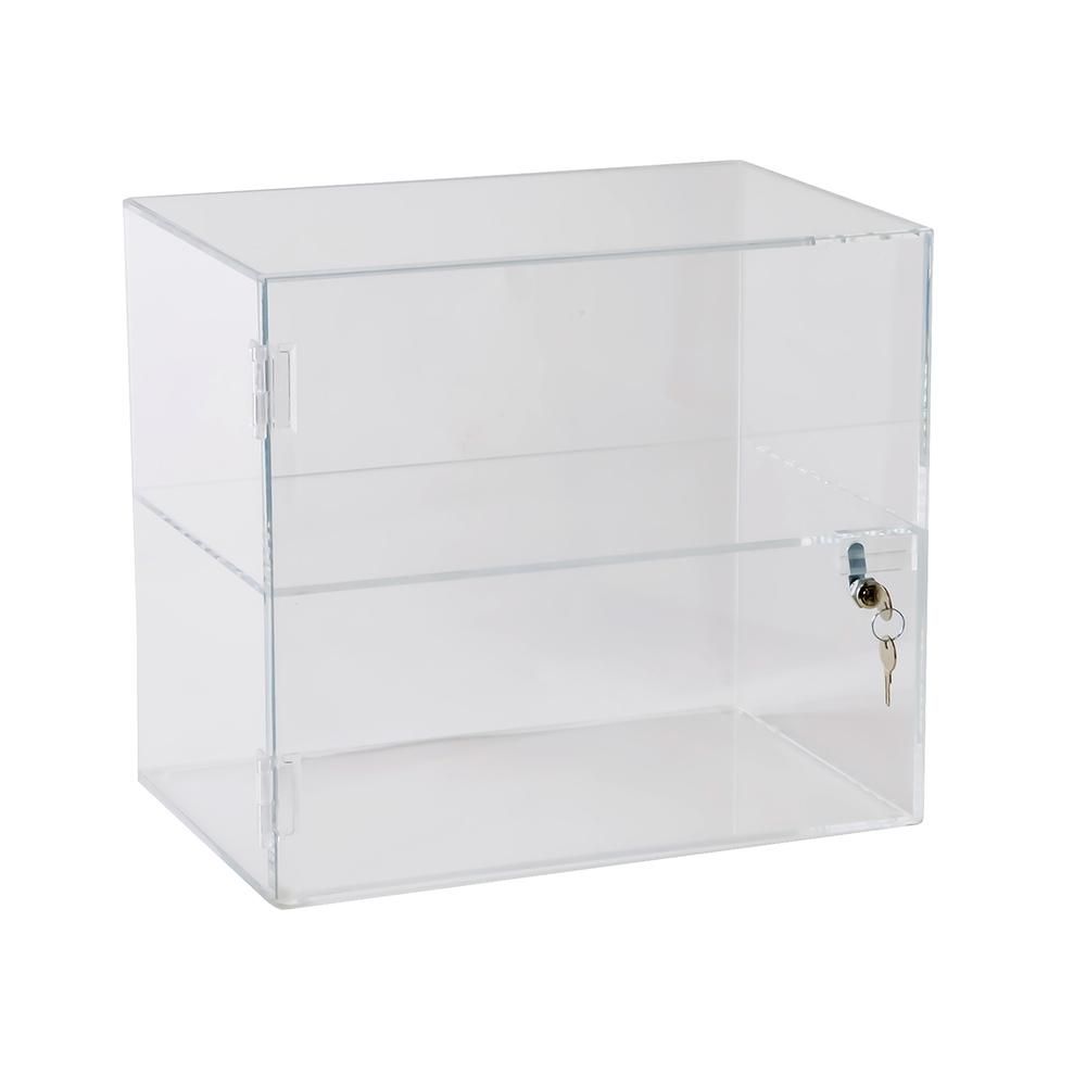 Acrylic Lockbox Countertop Display Case