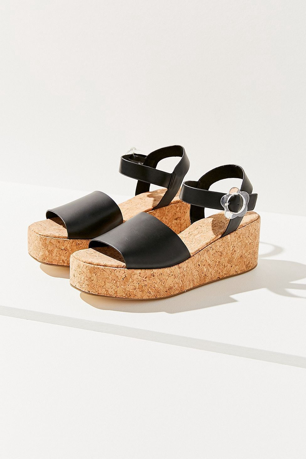 d479086f22f Urban Outfitters Layla Cork Flatform Sandal - 10 | Products ...