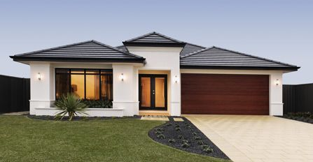 Ideal Display Homes The Capri Visit Www Localbuilders Com Au Display Homes Perth Htm For All Display Homes Facade House Modern House Exterior House Exterior
