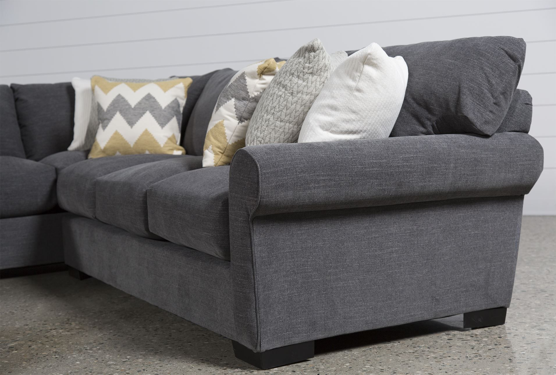 Aurora 2 Piece Sectional. CouchLiving SpacesToss ...