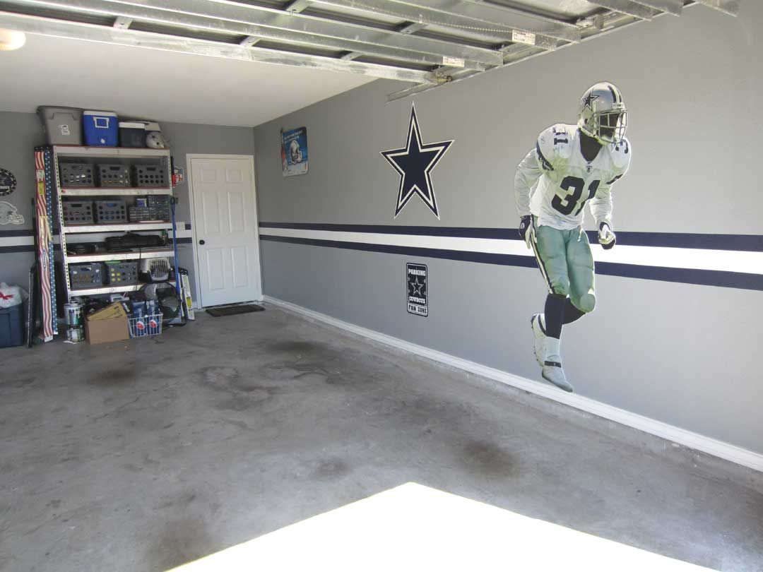 dallas cowboys bedroom decor. DIY  Dallas Cowboys Garage Pinterest