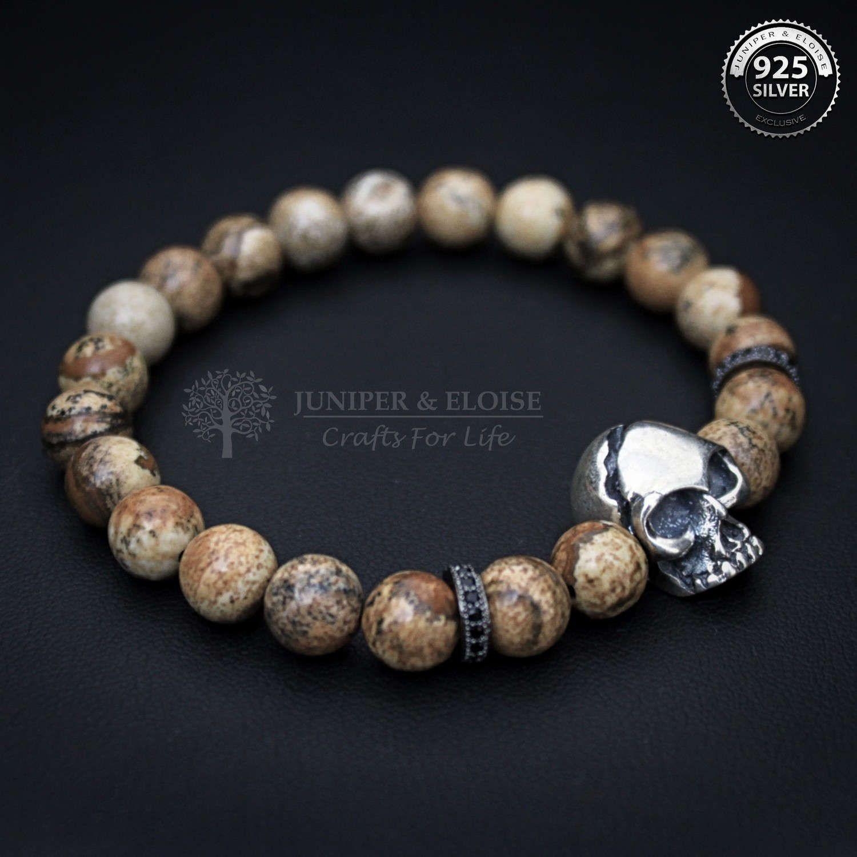 Skull Bracelet Mens Womens Ed