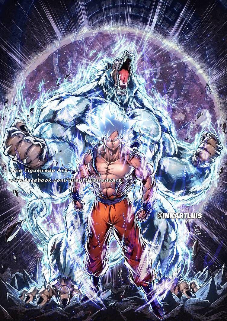GOKU n OOZARU Mastered Instinct - from DRAGON BALL by marvelmania on DeviantArt