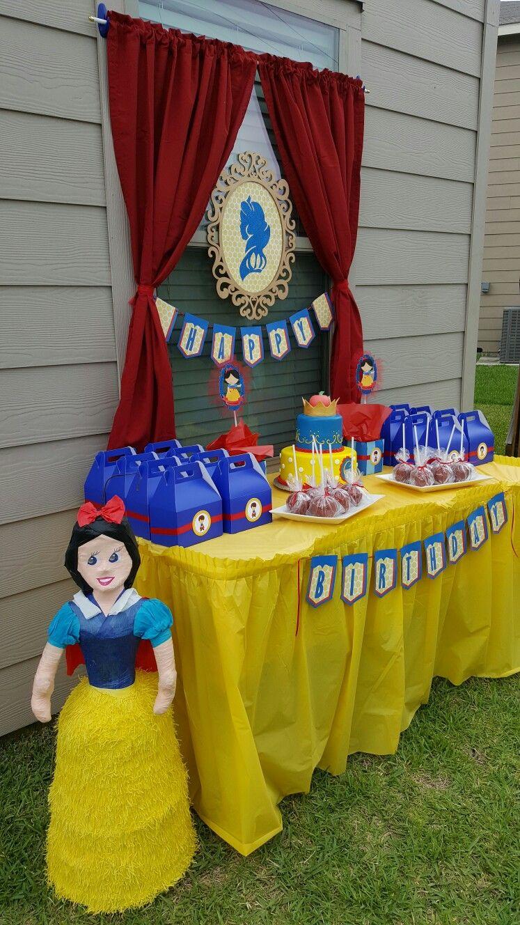 Gianna S Snow White Birthday Party Disney Princess Birthday