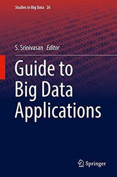 Guide to Big Data Applications Pdf Download