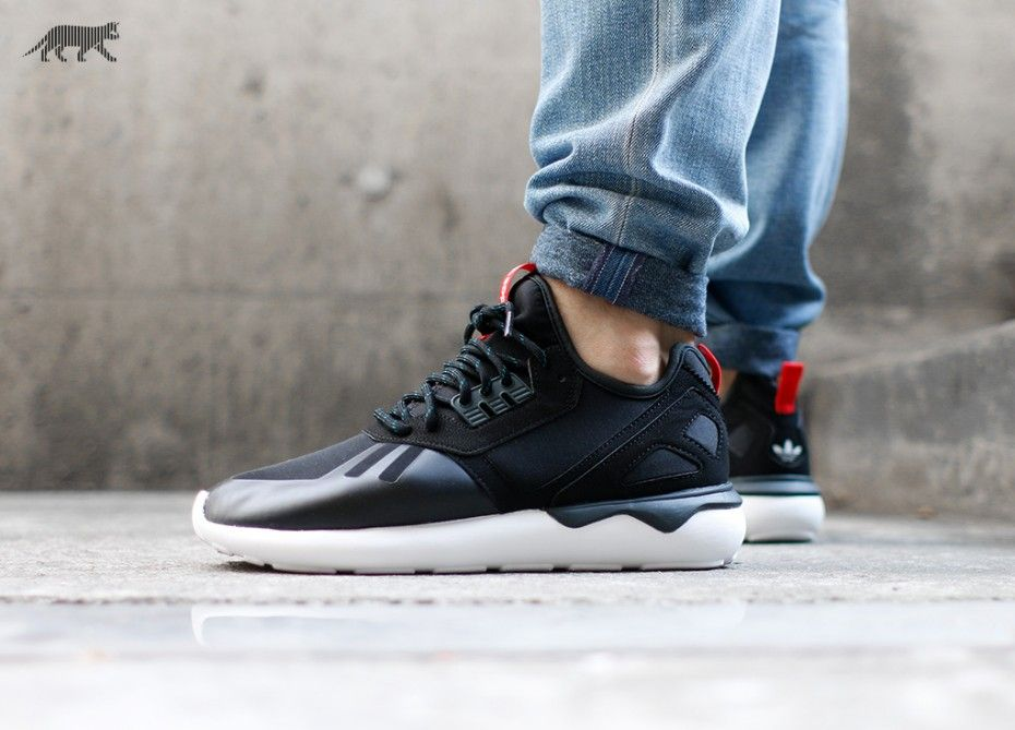 Adidas Tubular Runner Red And White