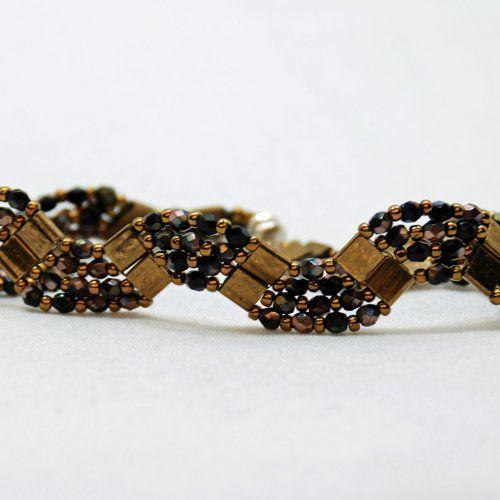 Another tila bead bracelet