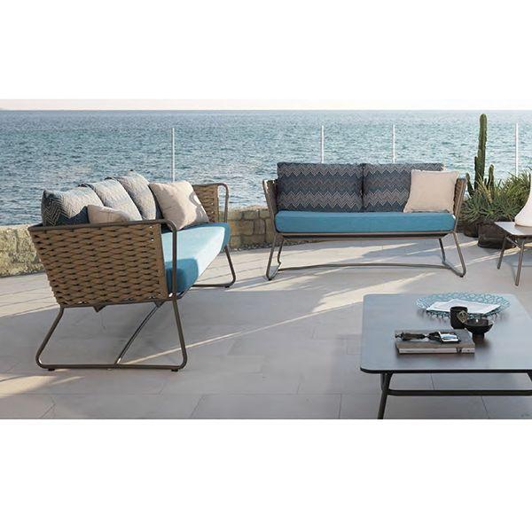 Roberti Portofino Wicker Outdoor Sofa Homeinfatuation Com
