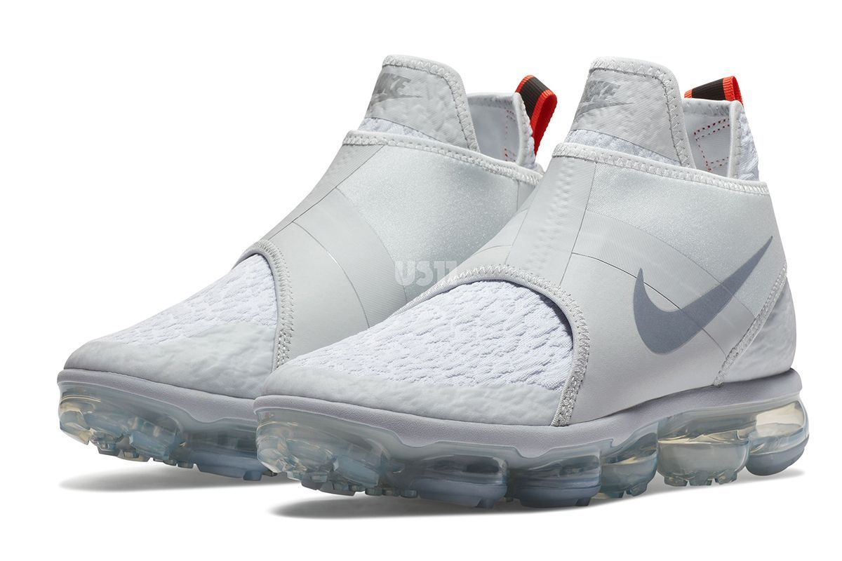 pick up 90a61 9a5f8 Nike Running has evolved the Air VaporMax into a mid-top on a couple of  upcoming releases. On one side, the advanced cushioned system is the anchor  of a tr