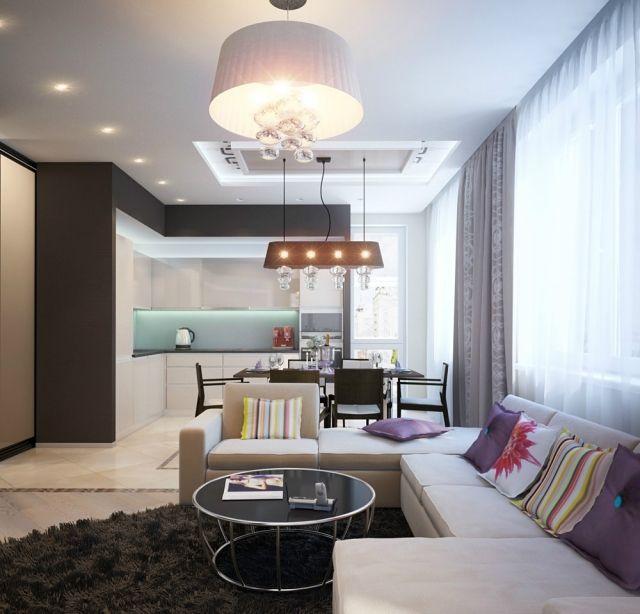 Einrichtung Wohnzimmer Ideen Farben Kombinieren Wohnküche In 2018