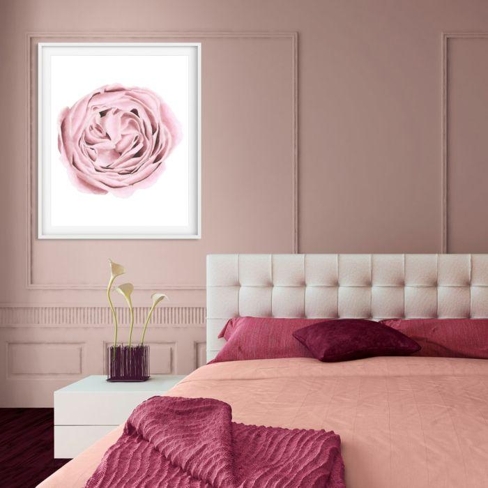 1001 + Idées Pour Une Chambre Rose Poudré + Les Intérieurs