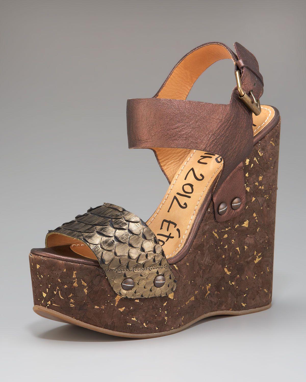 latest collections Lanvin Metallic Platform Sandals cheap amazing price cheap sale popular 7fGrTr1g