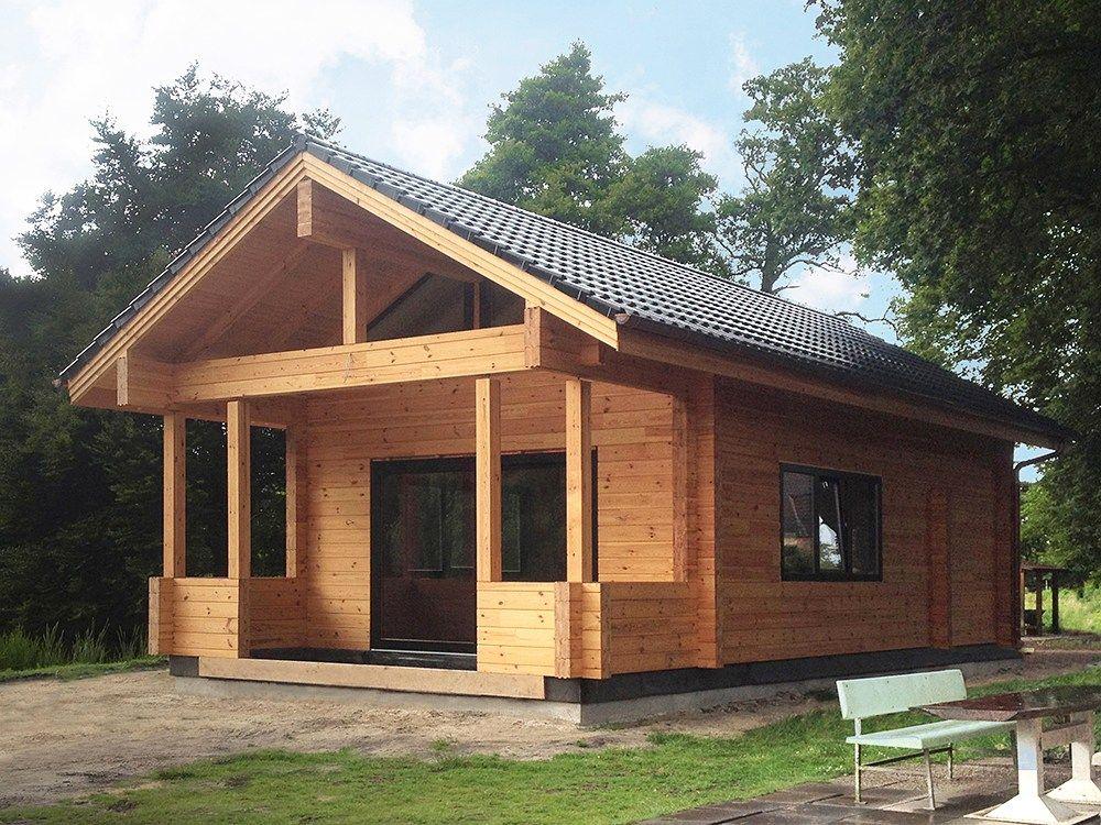 """Holzhaus mit Sauna in Papenburg (Deutschland) """"Donau"""" —80"""